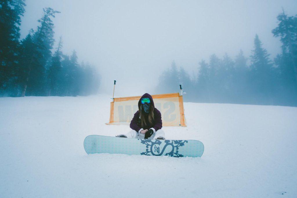 Как правильно падать на сноуборде