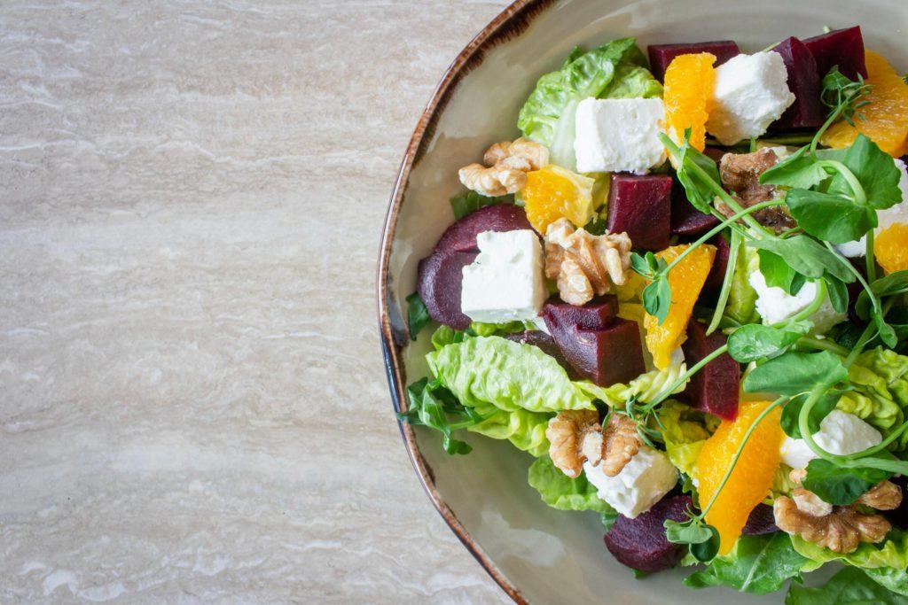Как научиться готовить овощной салат