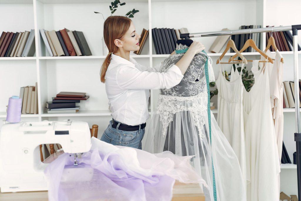 Принципы шитья платья