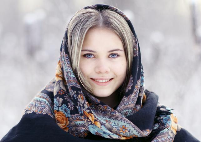 Как научиться завязывать платок на голове